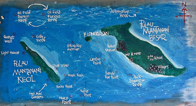 美人鱼岛位置
